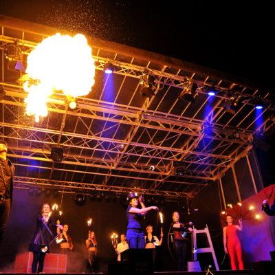Varieté Show mit Magic Man und Volair