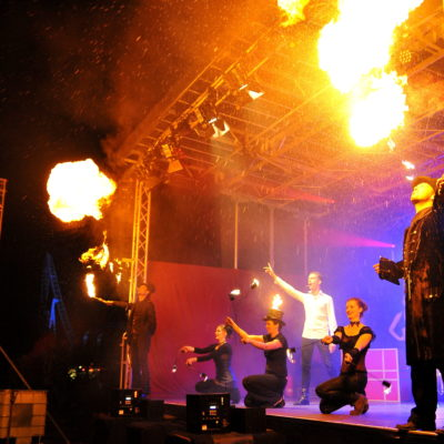 Varieté Show mit Magic Man und Volair